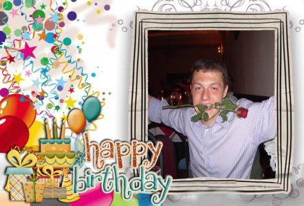 Birthday Photo Editor Frames