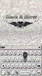 Black Silver Keyboard Cool Theme
