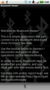 Bluetooth Viewer LITE