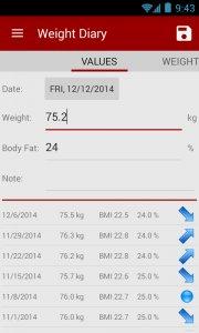 Calorie counter Life Balance