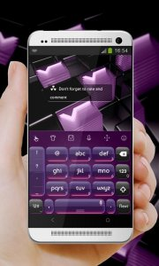 Digital Purple TouchPal