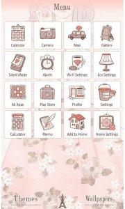 Spring Wallpaper-Floral Lady-