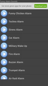 Funny Alarm Sounds