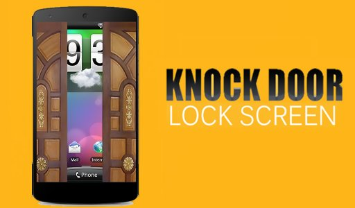 Knock Door Lock Screen