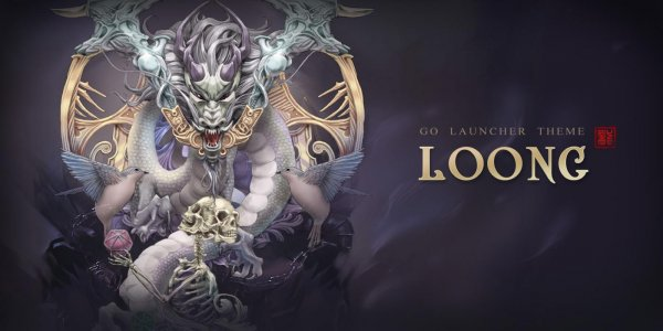 (FREE) Loong GO Launcher Theme