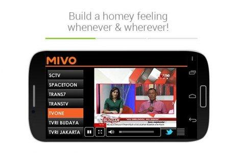Mivo - Watch TV & Celebrity