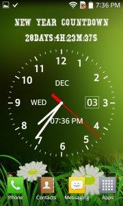Photo Clock Live Wallpaper