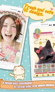 Cute Face&Words Box ThemeDECO+