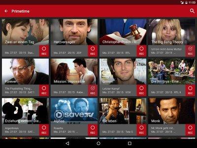 Save.TV für Android