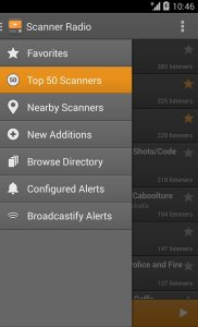 Scanner Radio: Police, Fire, and Air Traffic Android App APK