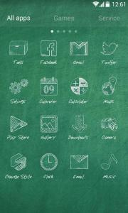 School Time GO Launcher Theme