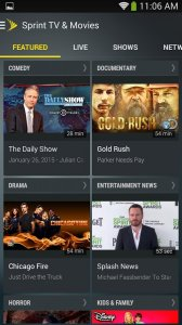 Sprint TV & Movies