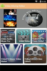 Video Mixing Editor