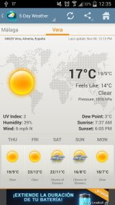 Weather & Clock Widget for Android
