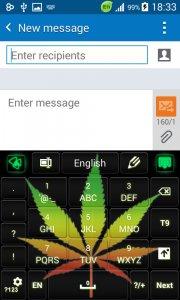 Weed Reggaeton Keyboard