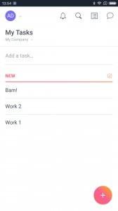 Asana: organize team projects