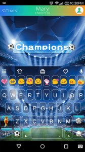 Soccer Champion Keyboard Theme