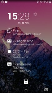 DashClock What App