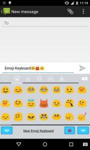 Emoji Keyboard - OS9 White