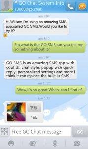 GO SMS Pro - Messenger, Free Themes, Emoji