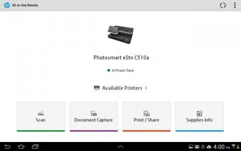 HP Smart (Printer Remote) Android App APK (com hp printercontrol) by