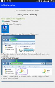 MTP-Alternative USB Drive