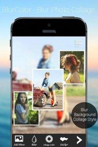 BlurColor - Blur Photo Collage