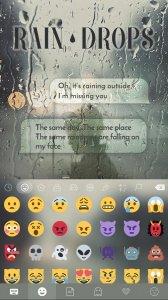 Rain Drops Kika Flat Theme
