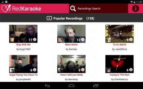 Red Karaoke Sing & Record Android App APK (com softbolt redkaraoke