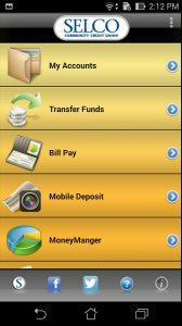 SELCO Mobile Banking App