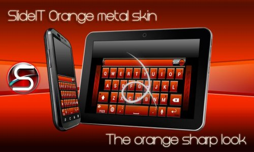 SlideIT Orange metal box skin