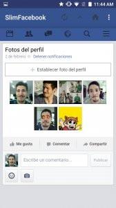 SlimSocial for Facebook