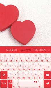 TouchPal Simple Love Theme
