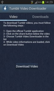 Tumblr Video Downloader