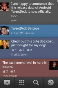 TweetDeck (Twitter, Facebook)