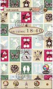 Vintage Stamps for[+]HOME