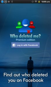 Who deleted me on Facebook?