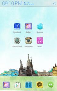 World Travel Atom theme