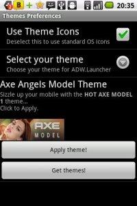 Axe Angels Model Theme