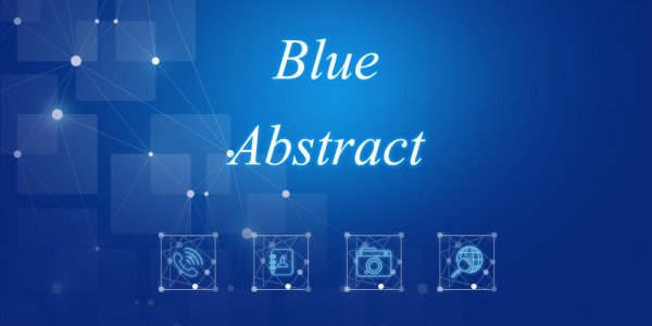Blue Abstract Theme