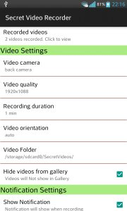 Background Video Recorder