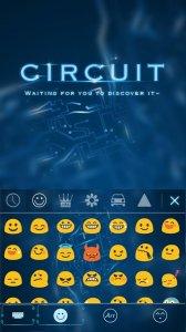 Circuit Kika Keyboard Theme