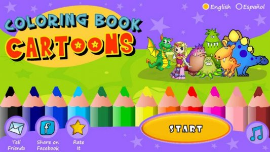 coloring book cartoons free - Coloring Book Software Free Download