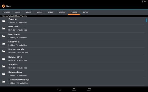 Cross DJ Hero Android App APK (com mixvibes crossdjhero) by Mixvibes