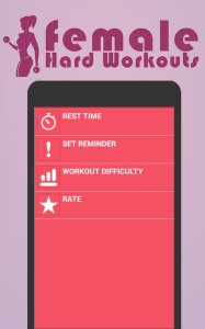 Female Hard Workouts ( home fitness )