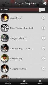 Gangster Ringtones Free