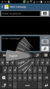 GO Keyboard Galaxy Note 4 Theme