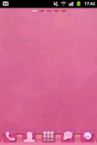 Theme Pink GO Launcher EX