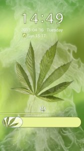 Weed Ganja Theme for GO Locker