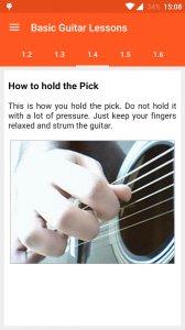 Basic Guitar Lessons